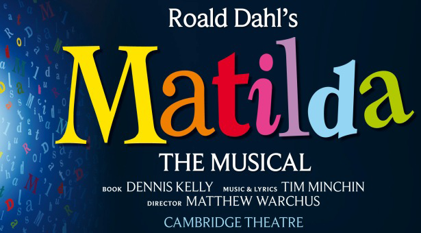 - Oonagh Cox who played Hortensia in Matilda The Musical    Matilda The Musical Logo